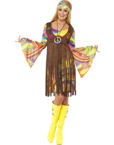 Kostium dziewczyny z lat 60