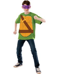Kostium Donatello Wojownicze Zólwie Ninja dla dzieci