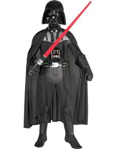 Strój Darth Vader deluxe dla chłopców